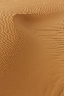 Onde di sabbia texture, dune del deserto.