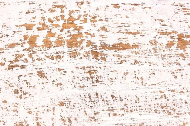 Vecchio fondo di legno bianco stagionato