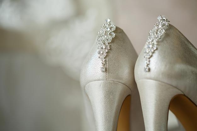Accessori da sposa sposa il giorno del matrimonio