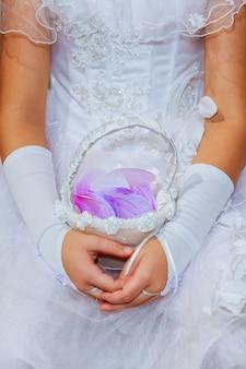 Bouquet da sposa bouquet da sposa bello, fresco e colorato
