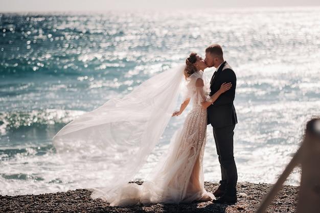 Sposi in costa azzurra.