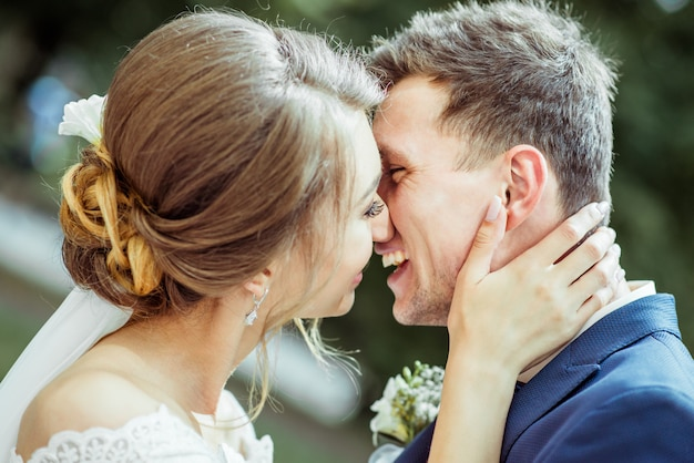 Matrimonio giovane coppia