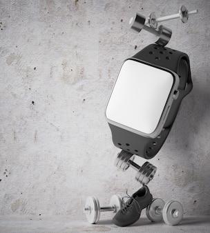 Smartwatch per allenamento con i pesi