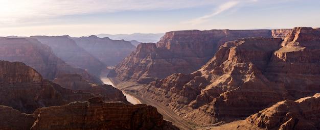Orlo occidentale del grand canyon