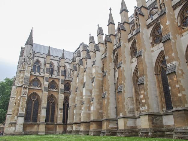 Chiesa dell'abbazia di westminster a londra