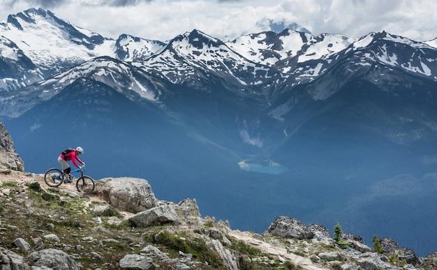 Montagne di whistler, columbia britannica, canada