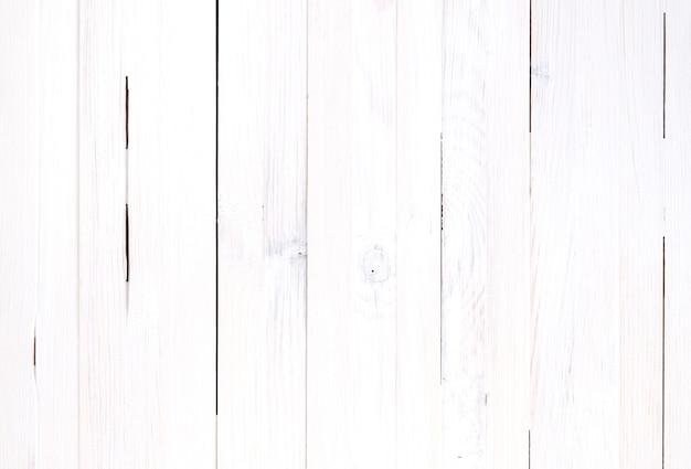 Sfondo bianco di assi di legno