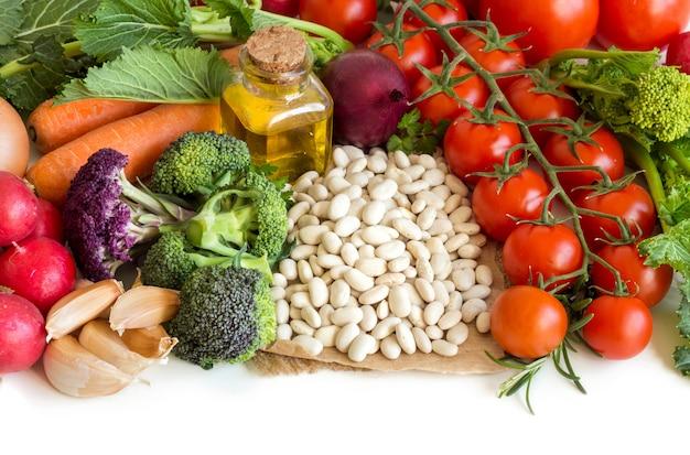 Fagioli bianchi con verdure