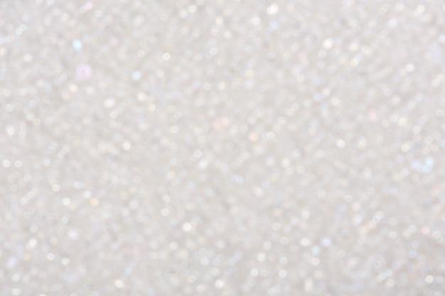 Fondo bianco delle luci del bokeh. foto ad alta risoluzione per texture o sfondo.