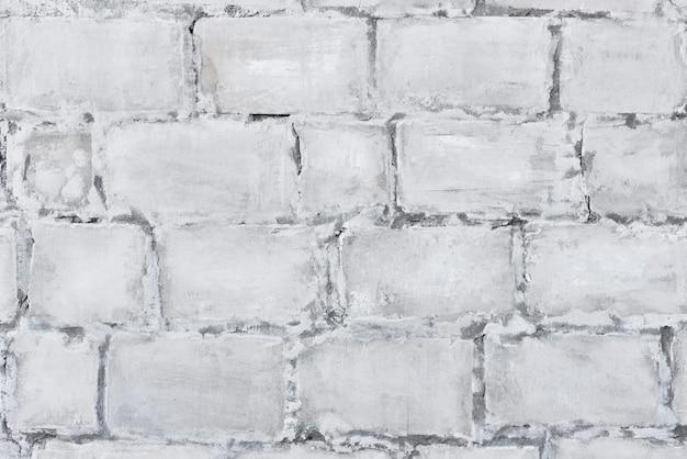 Struttura in muratura di mattoni bianchi. sfondo muro di mattoni