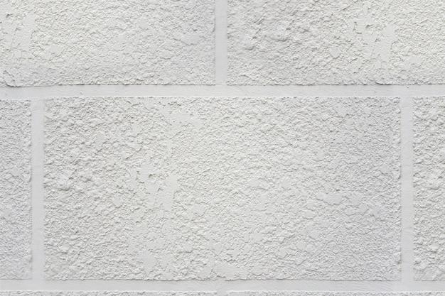 Priorità bassa di struttura del muro di mattoni bianchi