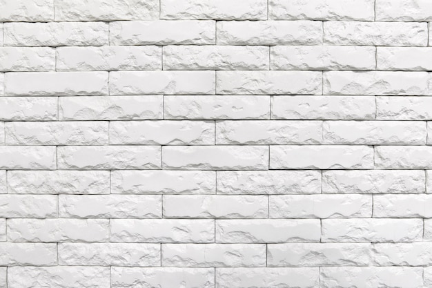 Trama di muro di mattoni bianchi