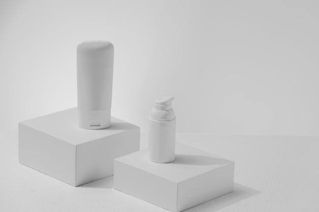 Prodotti per la cura della pelle di colore bianco senza responsabilità per la pubblicità