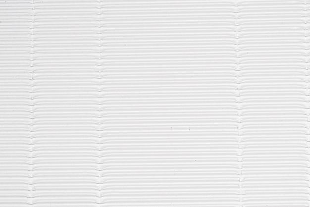 Foglio di carta ondulata bianca, sfondo strutturato