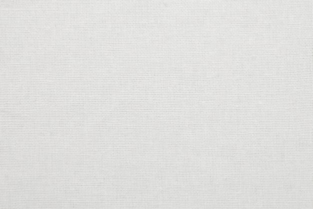 Fondo bianco di struttura del panno del tessuto di cotone