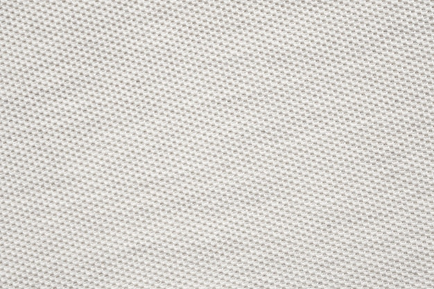 Reticolo di struttura del panno di tessuto di cotone bianco