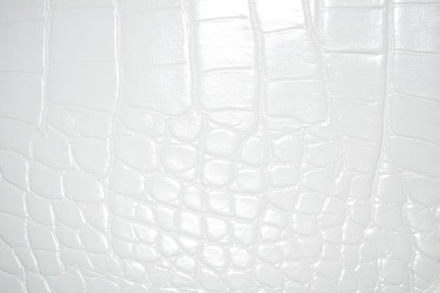 Sfondo bianco in pelle di coccodrillo bianco pelle di alligatore