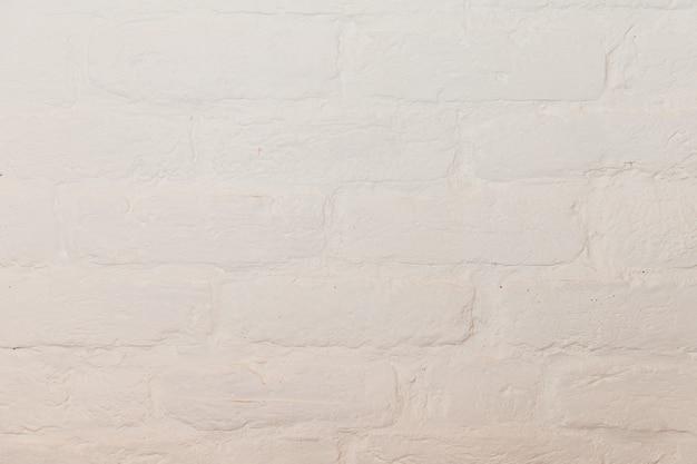 Sfondo bianco mattone decorativo.
