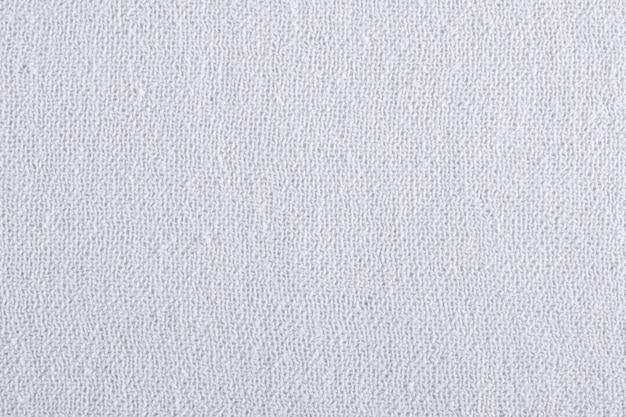 Dettaglio in fibra di tessuto bianco.