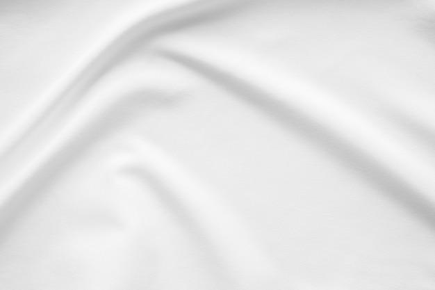 Sfondo di superficie liscia tessuto bianco