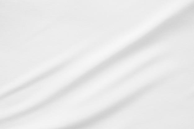 Trama liscia tessuto bianco