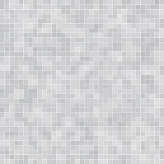 Bianco e grigio la carta da parati ad alta risoluzione della parete delle mattonelle o interni senza cuciture e struttura del mattone