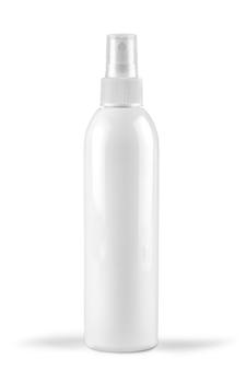 Modello di bottiglia di lozione bianca. modello di bottiglia di lozione bianca.