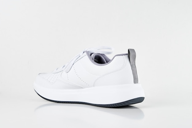 Sneaker uomo bianca Foto Premium