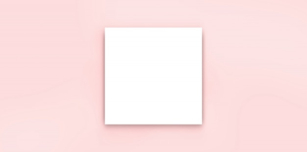 Bianco isolato bianco dell'opuscolo del papar dello spazio in bianco paparoso