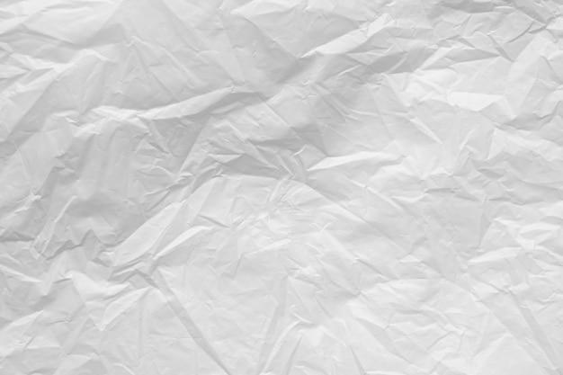 Struttura bianca del fondo del sacchetto di plastica da vicino