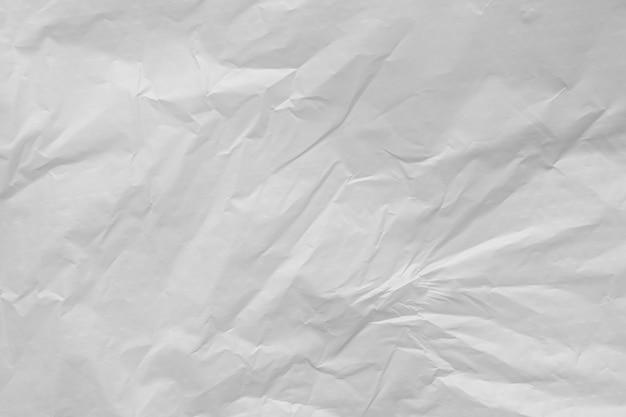 Trama di sacchetto di plastica bianca
