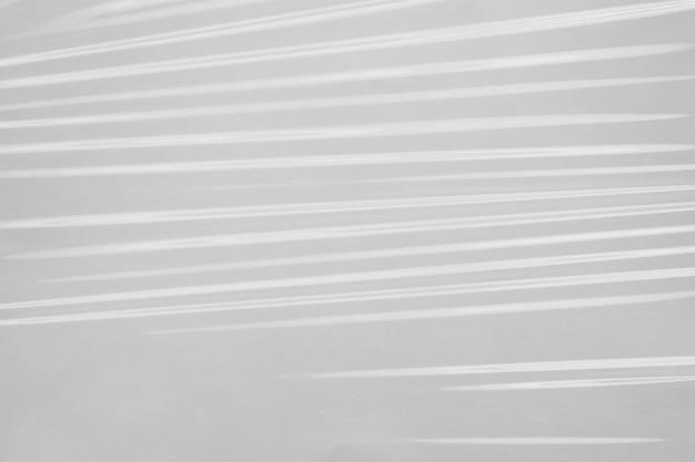 Struttura dell'involucro di pellicola di plastica bianca