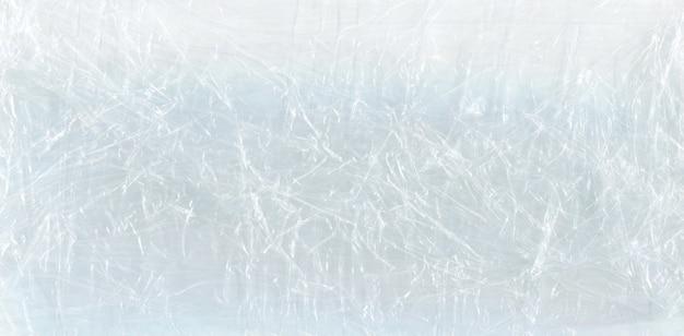 Struttura in polietilene bianco. trama sacchetto di polietilene.