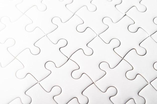 I puzzle bianchi rappresentano l'armonia e il potere delle persone di successo.