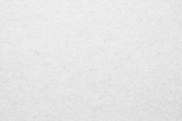 Struttura di superficie del cartone di carta riciclata bianca