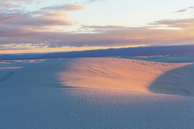 White sands dunes nel nuovo messico, usa