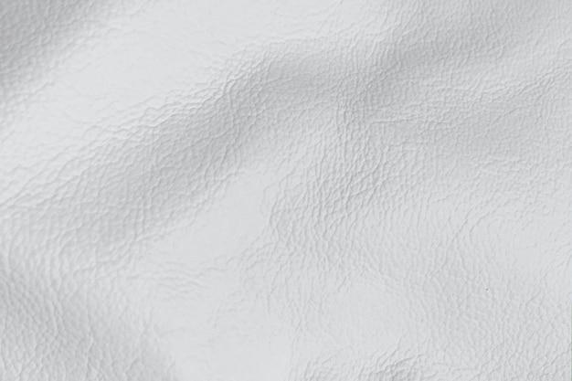 Priorità bassa di cuoio brillante bianca di struttura