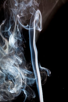 Movimento del fumo bianco.