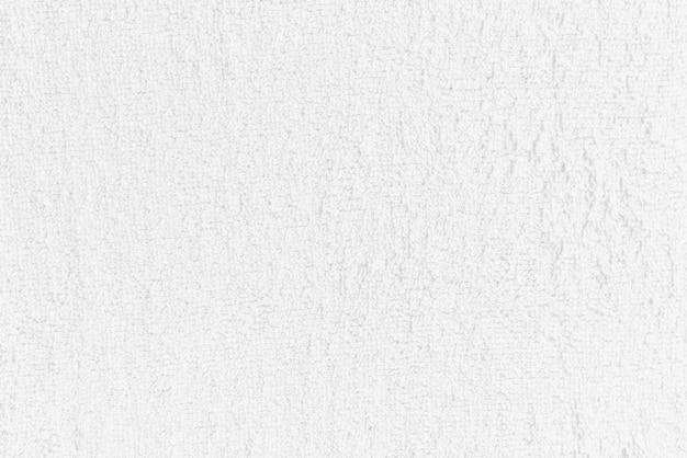 Asciugamano bianco, panno, superficie del tessuto