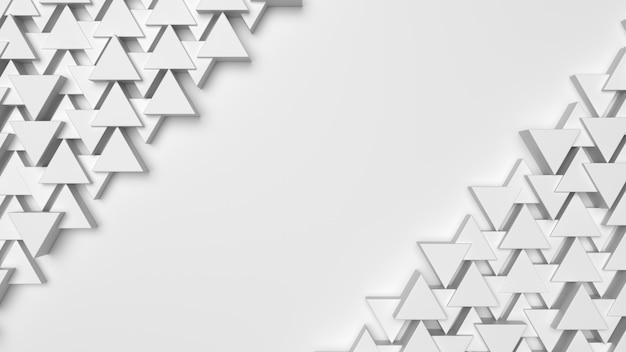 Struttura del fondo del triangolo bianco con lo spazio della copia per il vostro testo