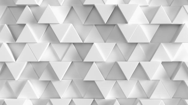 Trama di sfondo triangolo bianco