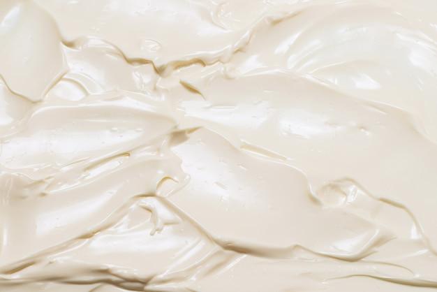 Texture panna montata bianca. vista dall'alto.
