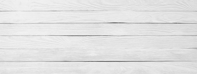 Primo piano di legno bianco di struttura, fondo di una superficie di legno della tavola, panorama