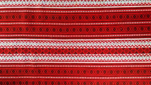 Ornamento sbiancato sulla tela come sfondo