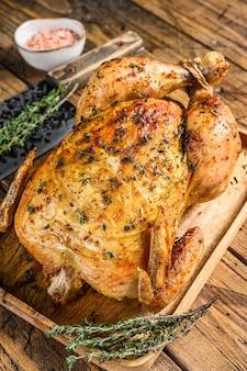 Girarrosto di pollo intero alla griglia