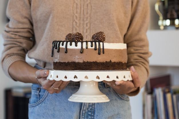 Torta mousse intera