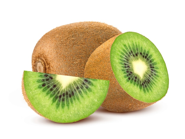 Kiwi intero e affettato