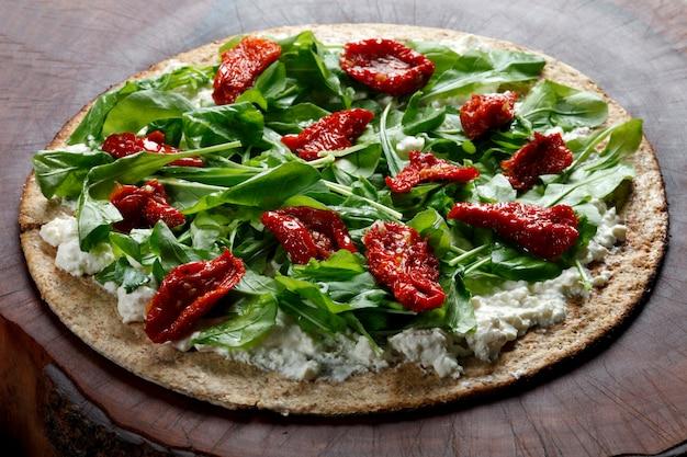 Pizza con farina integrale