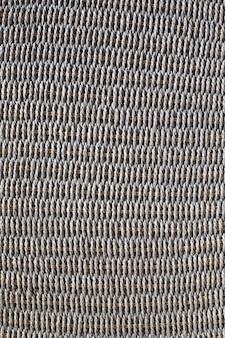 Struttura del cestino di vimini o rattan. parete della superficie del cesto. parete del modello.