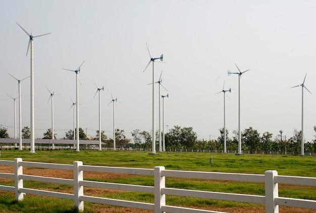 Mulini a vento per la produzione di energia elettrica